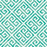 Seamless Greek Key Background Pattern in Three Color Variations Stock Image
