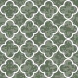 Nahtloser Klee-Muster-Hintergrund Stockfotografie