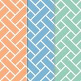 Nahtloses Korbgeflecht-Hintergrund-Muster Stockfoto