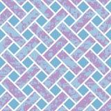 Nahtloses Korbgeflecht-Hintergrund-Muster Stockbilder