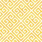 Nahtloses griechisches Schlüsselhintergrund-Muster in drei Farbveränderungen Lizenzfreies Stockbild
