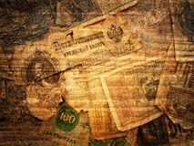 Retro money background Stock Image