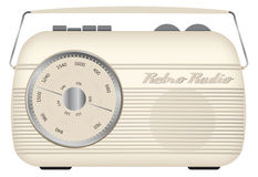 Retro- Monoradio Stockfoto
