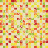 Retro a mosaic Stock Photography