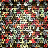 Retro mosaic background Stock Images