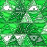 Retro mosaic pattern of geometric triangle shapes. Mosaic pattern of geometric triangle shapes Stock Illustration