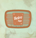 Retro motel sign. Vector. Retro motel sign. This is file of EPS10 format Royalty Free Stock Photos