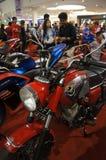 Retro motocicletta Fotografia Stock