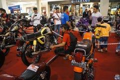 Retro motocicletta Immagine Stock Libera da Diritti