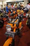 Retro motocicletta Immagini Stock