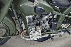 Retro motociclo Fotografie Stock Libere da Diritti