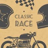 Retro motocykl Fotografia Stock