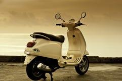 retro motorbike Royaltyfria Foton