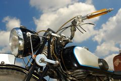 Retro motorbike Royalty Free Stock Images