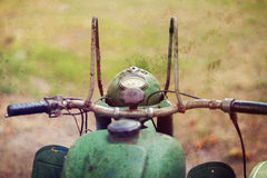 Retro motorbike Royalty Free Stock Photo
