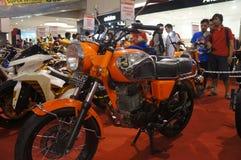 Retro motorbike Stock Image