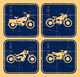Retro motorbike old Royalty Free Stock Images