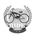 Retro motorcycle emblem Royalty Free Stock Photo