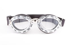 Retro motorcycle goggles Royalty Free Stock Image