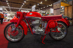 Retro motorcycle MV Agusta royalty free stock photos
