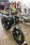 Retro motorcycle Royalty Free Stock Photography