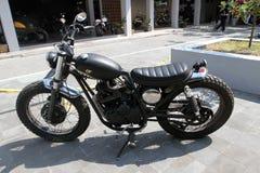 Retro motorcycle Royalty Free Stock Photo