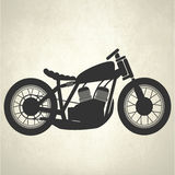 Retro motorcycle, vintage motorcycle. Retro motorcycle vector for your ideas Stock Images