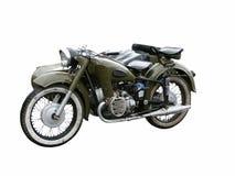 retro motorcykel Arkivfoto