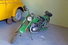 retro motorcykel Royaltyfri Foto