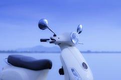 Retro Motorfiets stock afbeeldingen