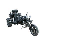 Retro motorfiets stock foto's