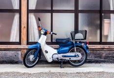 Retro- Motorrad Lizenzfreies Stockfoto