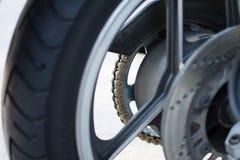 Retro- Motorrad Kawasakis GPZ draußen fotografiert Legendäres Fahrrad vom Film Top Gun Stockfotografie