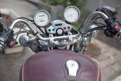 Retro motorscycle gauges Stock Photography