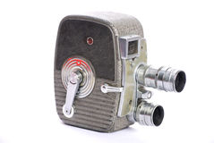 Retro movie camera Royalty Free Stock Photo