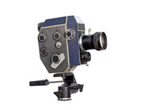 Retro movie camera 8mm 16mm Stock Photo