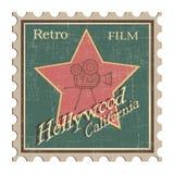 Retro movie projector film cinema. Vector - Illustration - Drawing Royalty Free Stock Photos