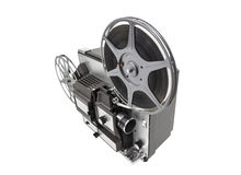 Retro Movie Projector Isolated Royalty Free Stock Photography