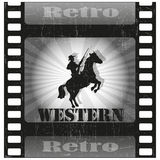 Retro movie Royalty Free Stock Photo