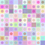 Retro multicolored circle pattern Royalty Free Stock Photo
