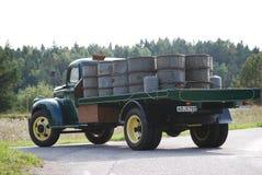 Retro Muntvoorwaarde Antiek Chevy Chevrolet neemt vrachtwagen vanaf 1946 op Royalty-vrije Stock Foto