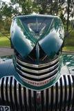 Retro Muntvoorwaarde Antiek Chevy Chevrolet neemt vrachtwagen vanaf 1946 op Stock Foto