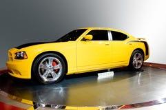 Retro Muscle Car Stock Photo