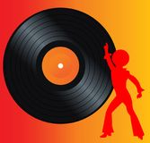 Retro music  Stock Photo