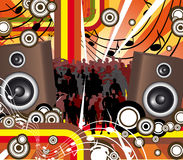 Retro music Royalty Free Stock Photography