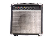 Retro music amplifier Royalty Free Stock Photo
