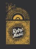 Retro music Stock Photo