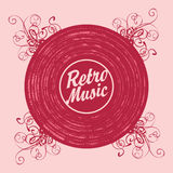 Retro music Royalty Free Stock Photo