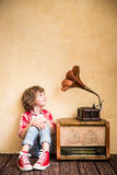 Retro music concept Royalty Free Stock Images