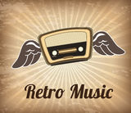 Retro music Royalty Free Stock Image